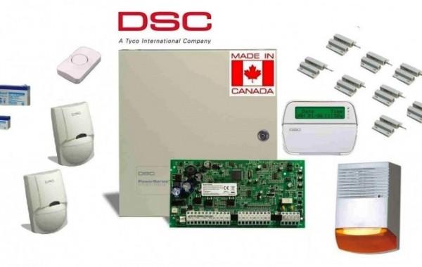 Πλήρες Σετ Συναγερμού DSC PC1616 με LCD πληκτρολόγιο