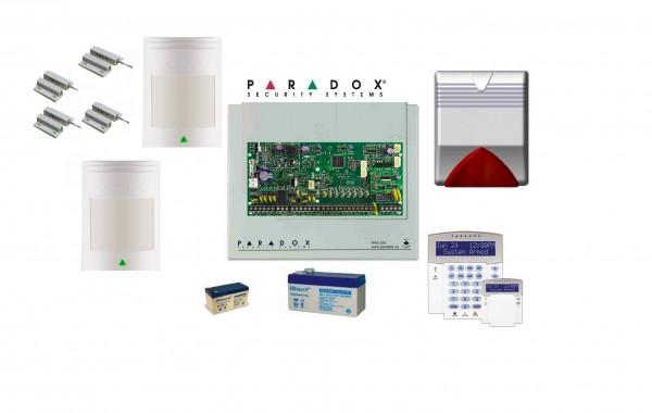 PARADOX SP 6000 με LCD Πληκτρολόγιο